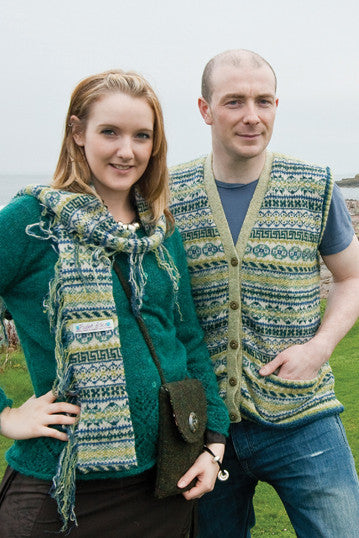 25% OFF Peerie Waistcoat in Seascape WAS £129.95 NOW £97.50