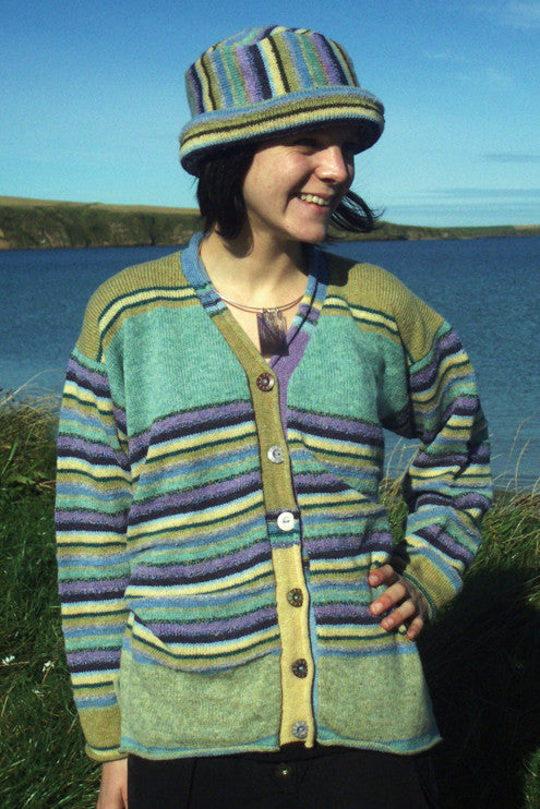 40% OFF Seventies Stripey Jacket in Landscape WAS £139.95 NOW £84.00