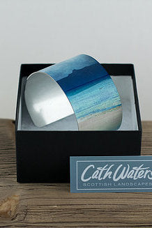 Cath Waters Skye from Bealach Na Ba Applecross Silver Necklace £65