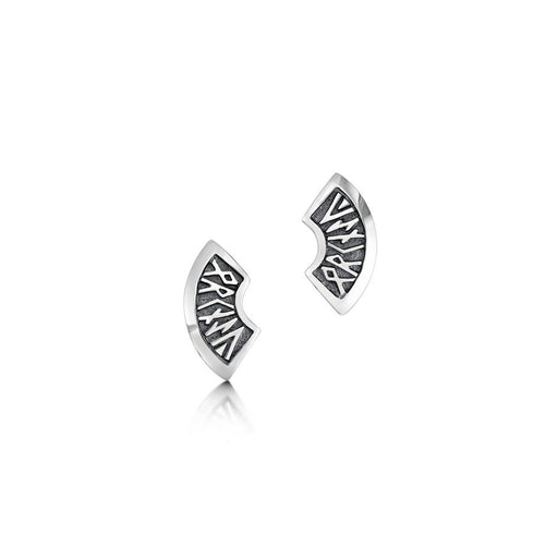 Sheila Fleet Runic Stud Earrings ( E034 )  £84.00