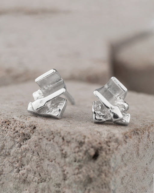 20% OFF Zoe Davidson Silver Barrier Mini Studs WAS £40.00 NOW £32.00