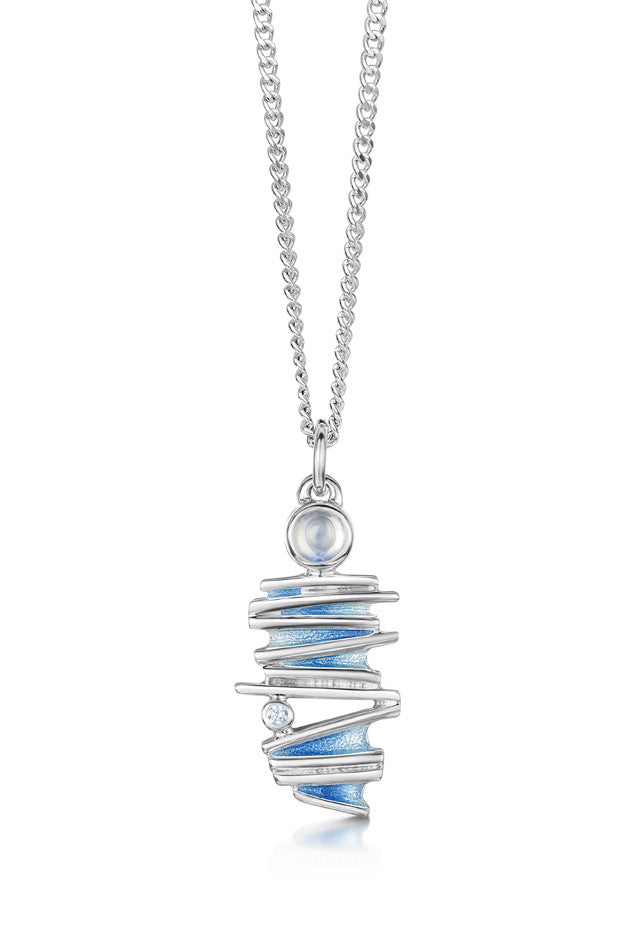 Sheila Fleet Moonlight Pendant in Moonstone