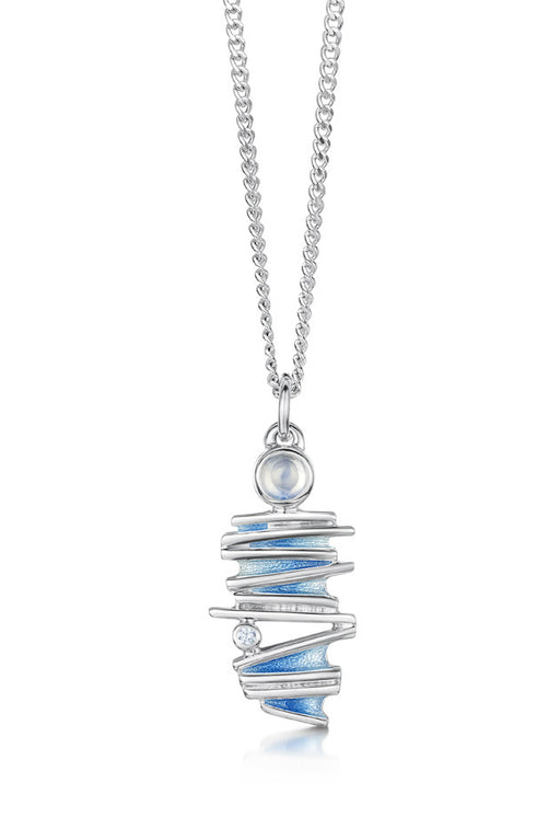 Sheila Fleet Moonlight Pendant in Moonstone ( ESP149 )  £108.00