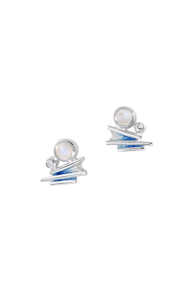 Sheila Fleet Moonlight Earrings in Moonstone  £117.00