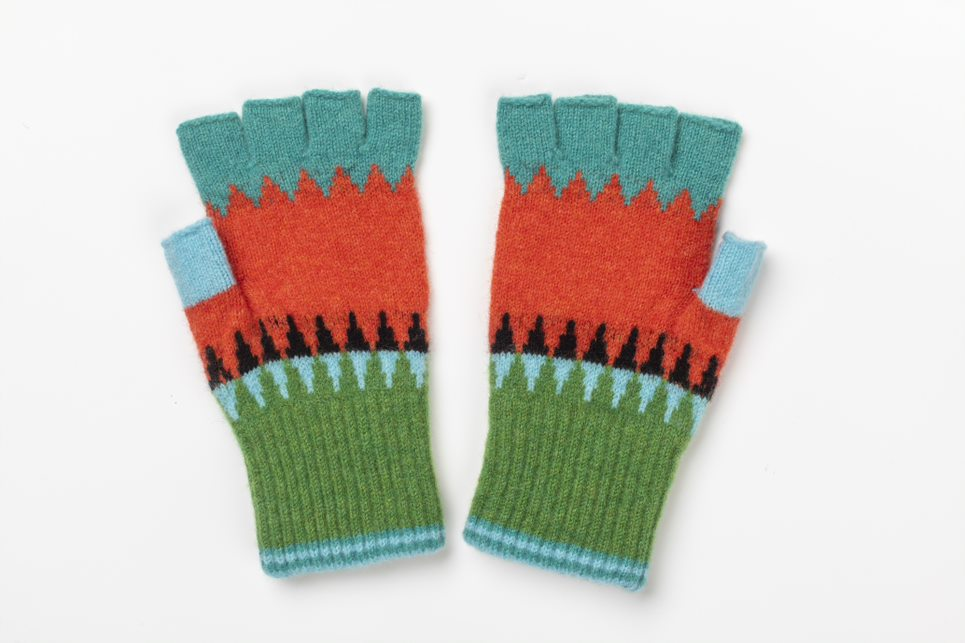 NEW Eribe Alloa Fingerless Gloves in Paradise £32.00