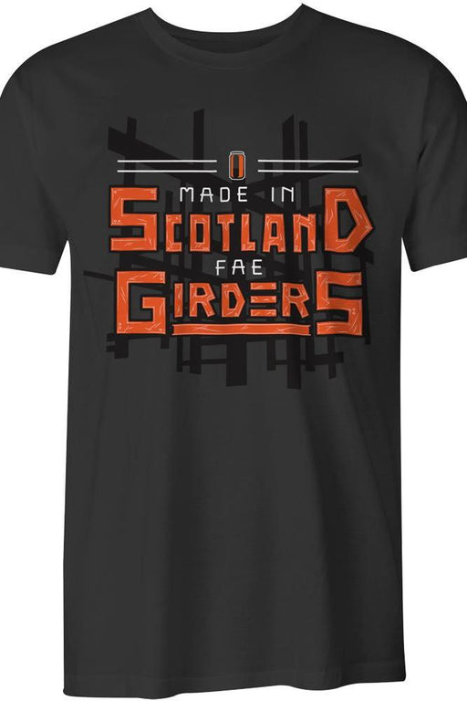 "Urban Pirate ""Made Fae Girders "" T-shirt in Graphite £22.00"