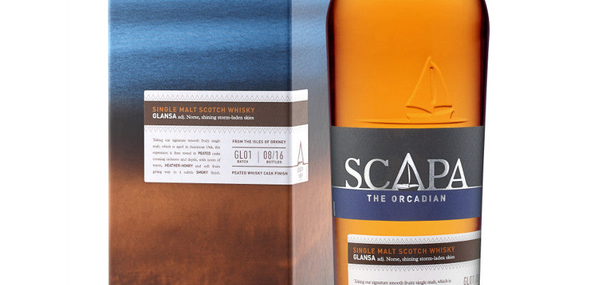 Scapa Glansa 70cl The Orcadian Single Malt Whisky £45.00