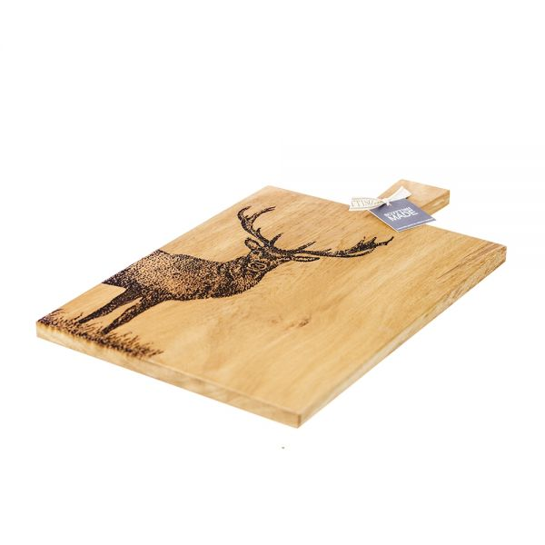 Scottish Made Large Monarch Stag Serving Paddle £85.00