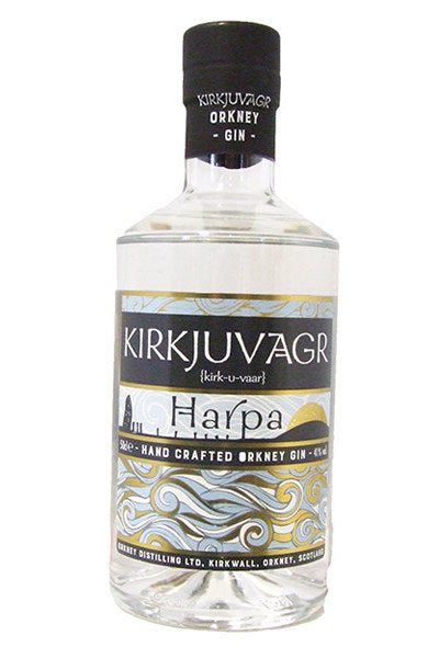 Kirkjuvagr Orkney Gin - Harpa 50cl £28.99 with FREE Gin Mat