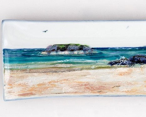 Highland Stoneware Seascape Long Rectangle Dish £45.95