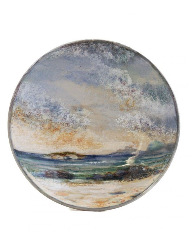 Highland Stoneware Seascape Medium Geo Dish £45.95