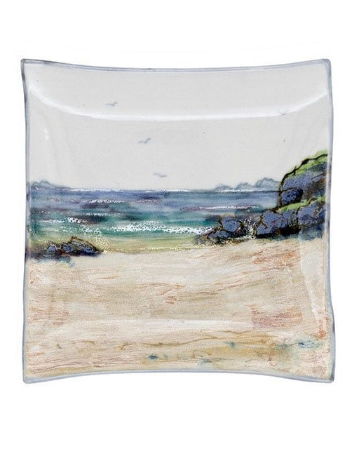Highland Stoneware Seascape Medium Square Dish £45.95