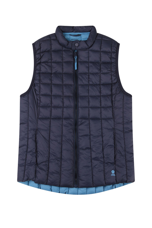 25% OFF Mousqueton Aponi Puffer Gillet, Marine Was £65.00 NOW £48.75