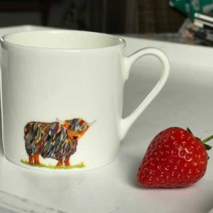 15% OFF Chloe Gardner Highland Cow Espresso Mug was £10.95 now £9.30
