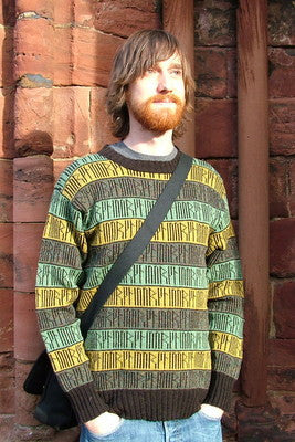 15% OFF Orkney Runic Crewneck Sweater in Lichen WAS £139.95 NOW £118.95