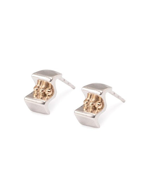20% OFF Zoe Davidson Silver Spring Tide Earings with Gold Pebbles WERE £72.00 NOW £57.50
