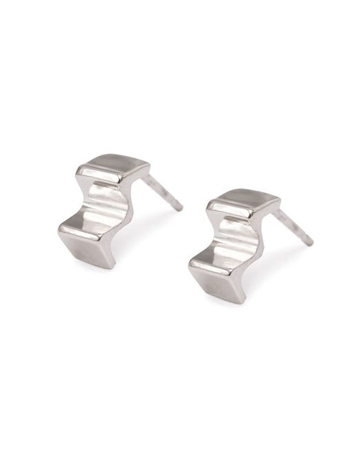 20% OFF Zoe Davidson Silver Ridge Studs WERE £51.00 NOW £40.50