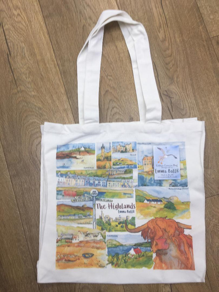 15% OFF Emma Ball 'Highlands' Canvas Bag was £14.95 now £12.70