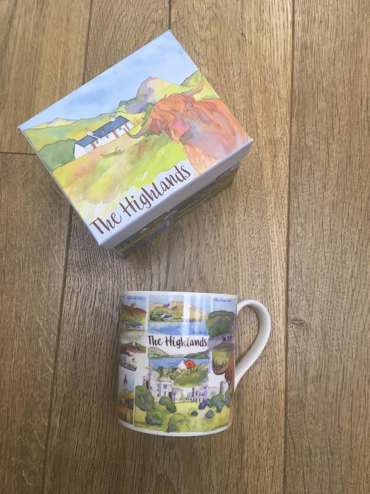 Emma Ball 'Highlands' Mug £13.95