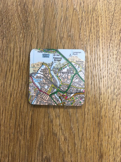 Inverness Map Magnet £3.95