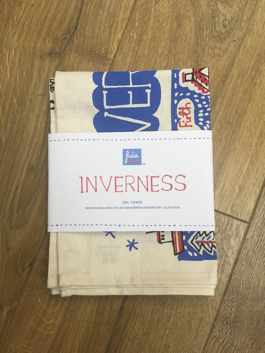 Julia Gash Inverness Tea Towel £9.95
