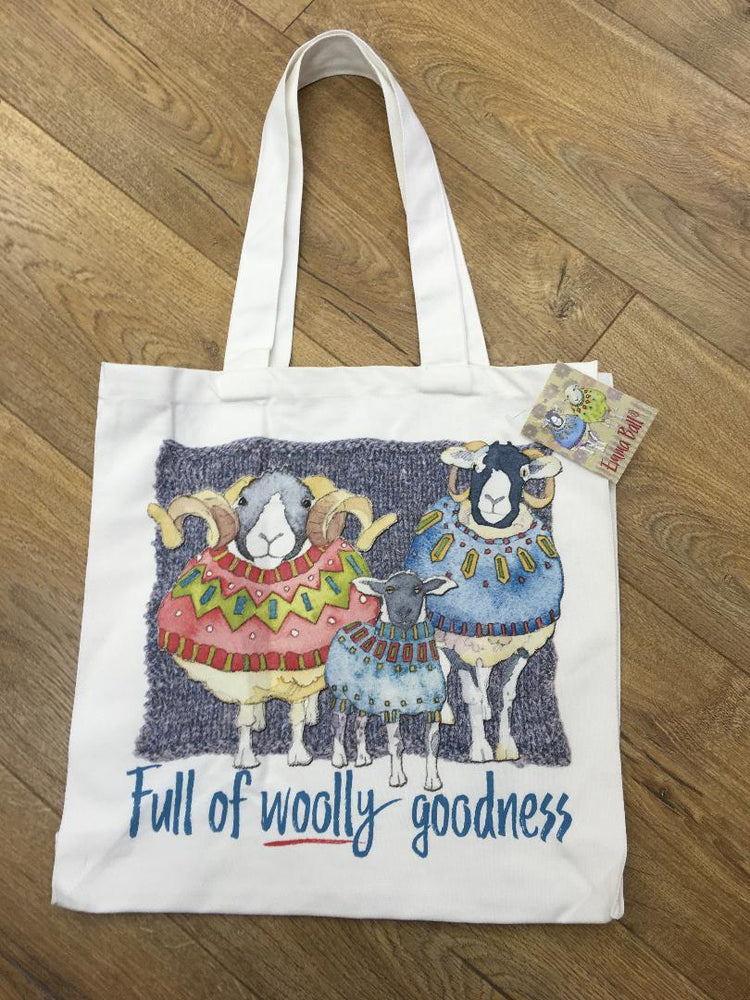 Emma Ball 'Full of Woolly Goodness' Canvas Bag £14.95