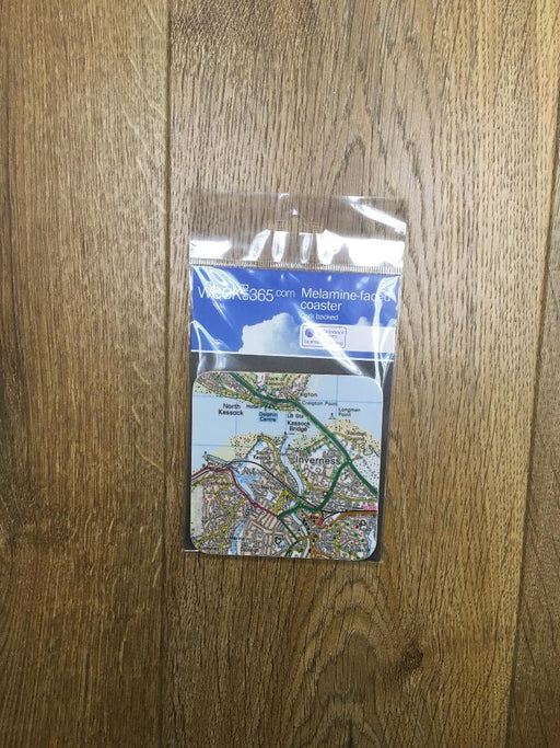 Inverness Map Coaster £4.95