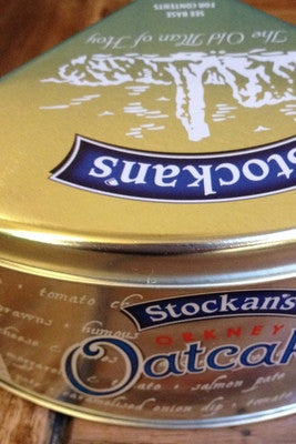 Stockans Oatcake Tin