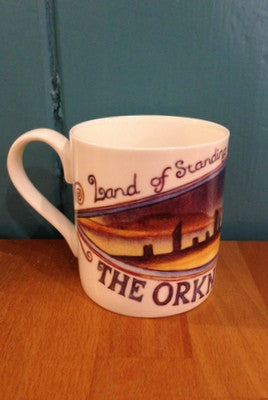 Exclusive to Judith Glue Standing Stones of Orkney Mug £9.95
