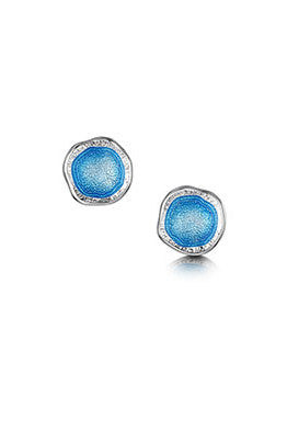 Sheila Fleet Lunar Tropical Tiny Stud Earrings in Tropical  £72.00
