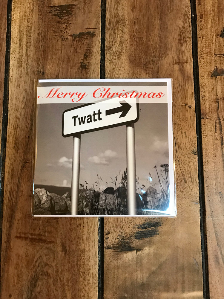 Merry Christmas Twatt Orkney Card £2.95