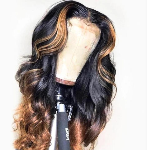 Luxe Custom Colored Sandy Wig