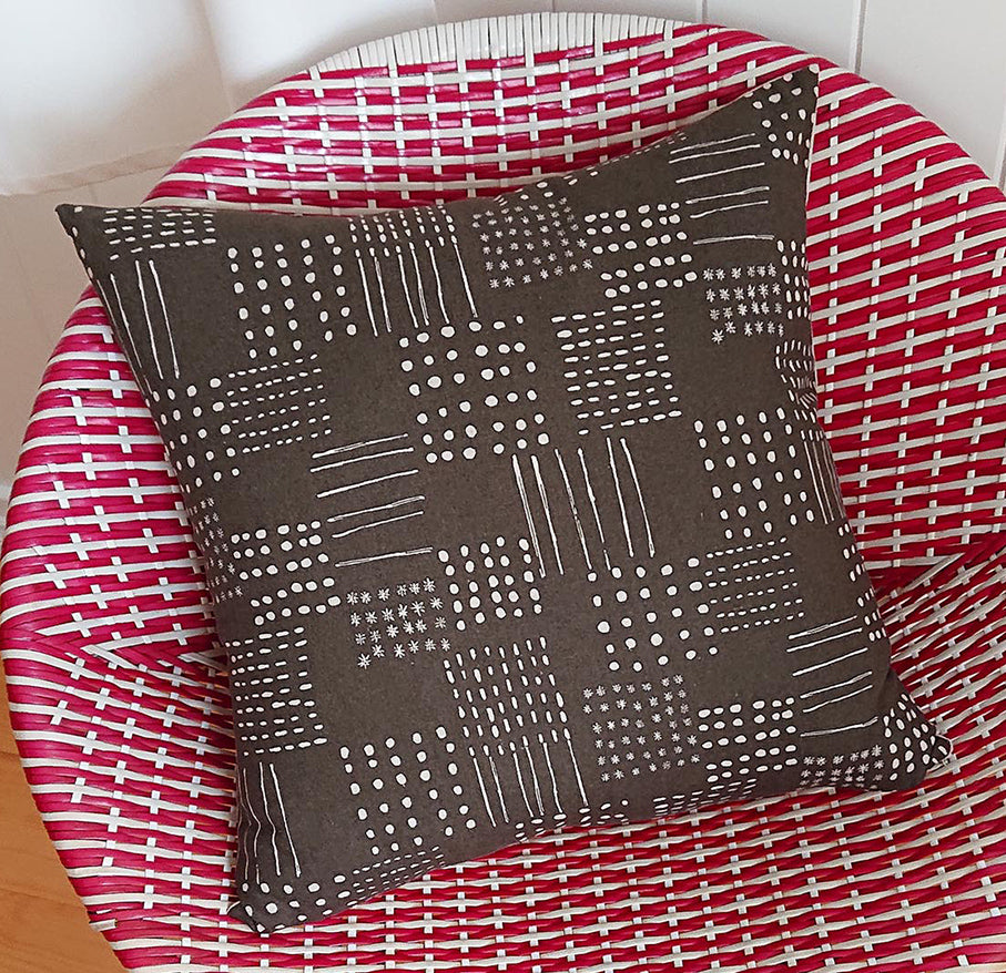 Dots and Lines Cushion Cover