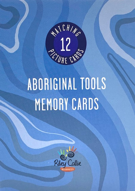 Aboriginal Tools Memory Match Game