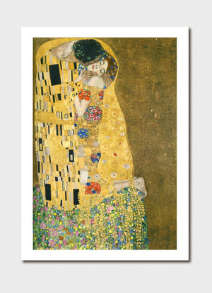 Kiss Medium Print - Gustav Klimt