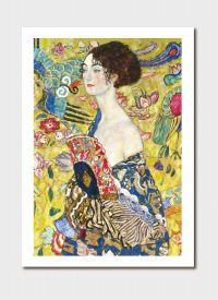 Lady With a Fan Medium Print - Gustav Klimt