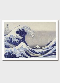 Under the Wave Off Kanagawa (Great Wave) Medium Print - Katsushika Hokusai