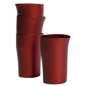 Fink Beakers Set of 4 Red