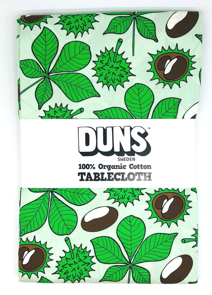 DUNS Sweden Chestnut Brook Green Tablecloth