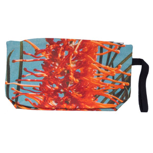 Deep Sea Grevillea Clutch Bag