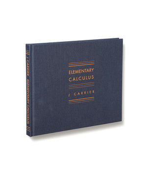 J Carrier: Elementary Calculus