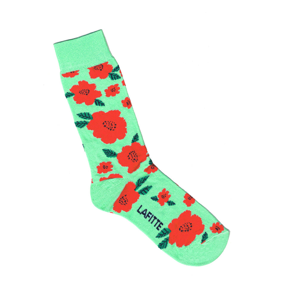 Flower Socks Mint