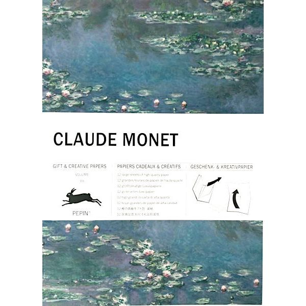 Gift & Creative Papers Book: Claude Monet