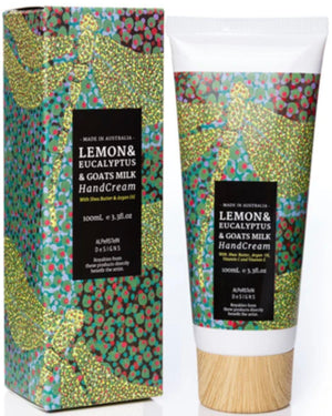 Lemon, Eucalyptus & Goats Milk Hand Cream