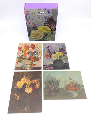 Flowers Greeting Card Box