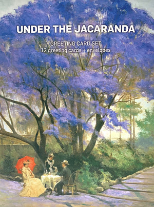 Under the Jacaranda Greeting Card Box