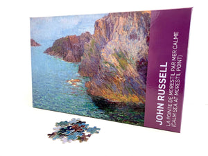 Calm Sea at Morestil Point Jigsaw Puzzle