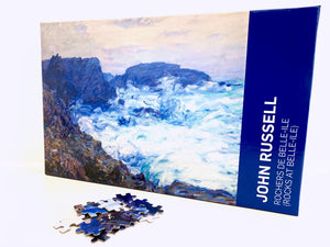 Rocks at Belle Ile Jigsaw Puzzle