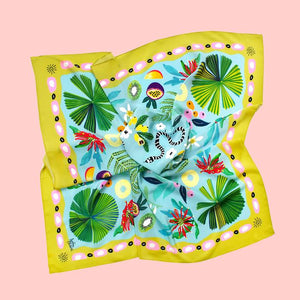 Sunshine Silk Scarf