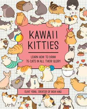 Kawaii Kitties Learn How to Draw 75 Cats in All Their Glory
